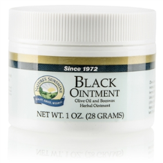 Black Ointment  (1 ounce jar)