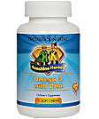 Sunshine Heroes Omega 3 with DHA (90 Soft chews)