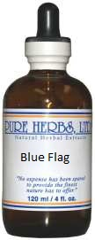 Blue Flag - lymphatic cleanser