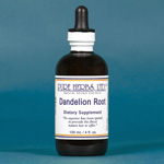 Dandelion Root -  vigorous body cleaner.