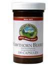 Hawthorn Berries (100 capsules) Kosher