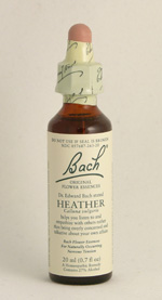 Heather Bach Flower Remedy