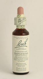 Impatiens Bach Flower Remedy
