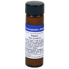 Sulphur - High Potency - Skin Problems, Hot flashes, Pimples.