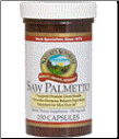 Saw Palmetto 100 Capsules Kosher