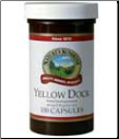 Yellow Dock (100 capsules) kosher