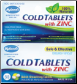 Hyland's Cold Tablets with Zinc