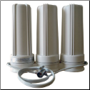Cuzn Counter Top Water Filter with Double Diverter