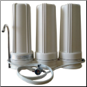Cuzn Counter Top Water Filter with spout