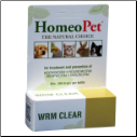 HomeoPet Wrm Clear